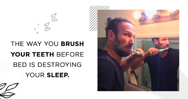 Teeth brushing destroying your sleep - Swanwick Sleep
