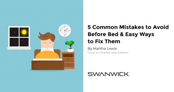 5 Common Mistakes To Avoid Before Bed and Easy Ways To Fix Them