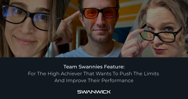 Team Swannies Feature:  For The High Achiever That Wants To Push The Limits And Improve Their Performance